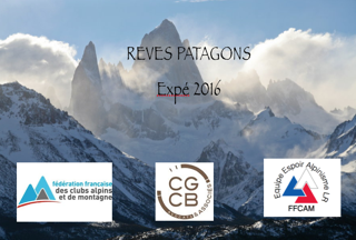 CGCB SOUTIENT L'EXPEDITION PATAGONIE 2016
